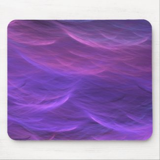 Purple Water Soft Waves Mousepad
