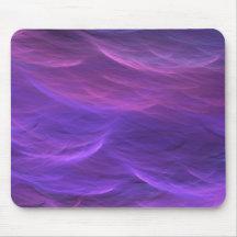 Purple Water Soft Waves Mousepad