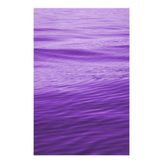 Purple Water Stationery