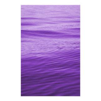 Purple Water Stationery