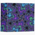 Purple Watercolor Speckle Binder