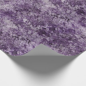 Halloween Themed Purple Watercolor Wrapping Paper