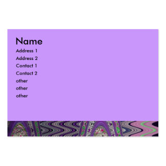 purple wave large business card
