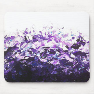 Purple Wave Mousemat Mouse Pad