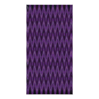 purple wave pattern abstract photo print