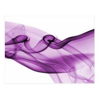 Purple Wave Postcard
