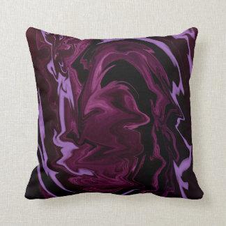 Purple Waves, American MoJo Pillow