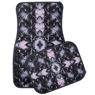 Purple Waves of Beauty Car Floor Mats Car Mat