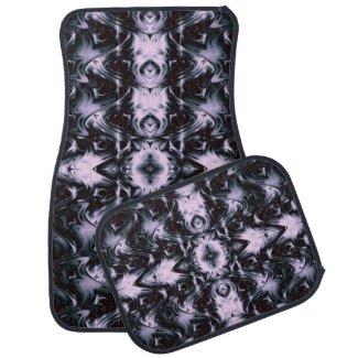 Purple Waves of Beauty Car Floor Mats Car Mat