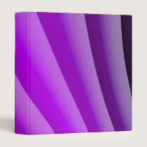 Purple Waves of Pain Art Binder