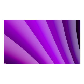 Purple Waves of Pain Art Business Card