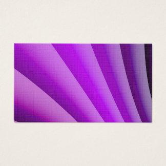 Purple Waves of Pain Art Business Card
