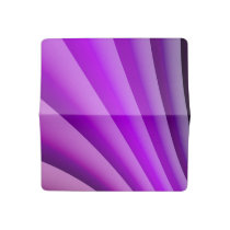 Purple Waves of Pain Art Checkbook Cover