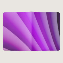 Purple Waves of Pain Art Extra Large Moleskine Notebook