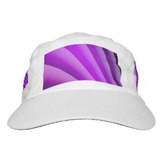 Purple Waves of Pain Art Hat