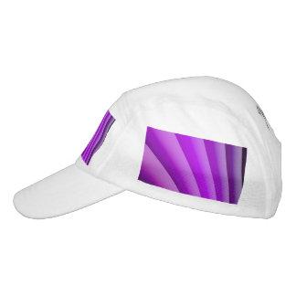 Purple Waves of Pain Art Headsweats Hat