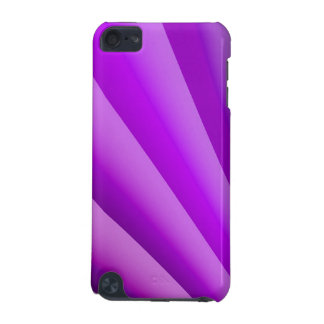 Purple Waves of Pain Art iPod Touch (5th Generation) Case