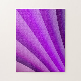 Purple Waves of Pain Art Jigsaw Puzzle