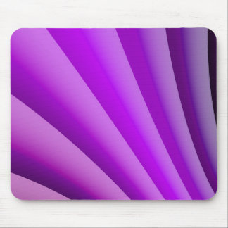 Purple Waves of Pain Art Mouse Pad