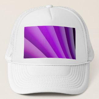 Purple Waves of Pain Art Trucker Hat