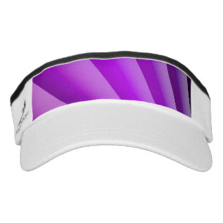 Purple Waves of Pain Art Visor