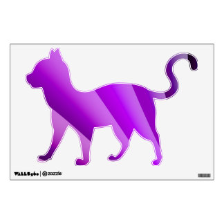 Purple Waves of Pain Art Wall Decal