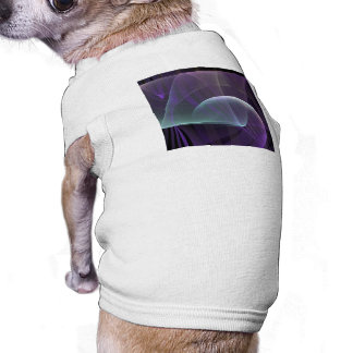 Purple Waves of Pain Dog Clothes