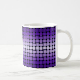 Purple Weave Pattern Mug