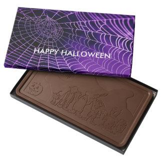 Purple Web Halloween Chocolates