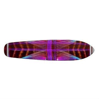 Purple Web Net: SUPERcharged SuperSONIC Custom Skate Board