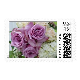 Purple Wedding Bouquet Postage