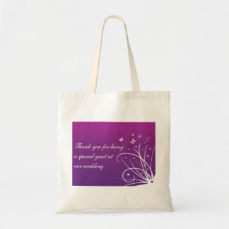 Purple Wedding Favour Bag for guests