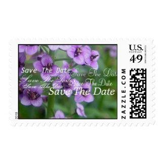 Purple Wedding Stamp