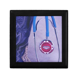 Purple Western Boot Doctor Gambling Stethoscope Gift Box