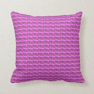 Beach Themed purple whale pillow