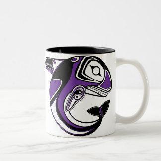 Purple Whale Totem Mug