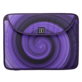 Purple Whirly Rickshaw Flap Sleeve