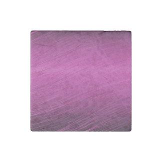 Purple Whisps Stone Magnet