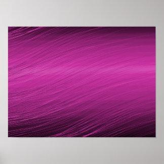 Purple Whisps Print