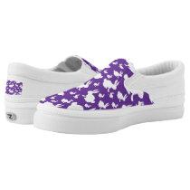 Purple White Bunny Rabbit Shoes