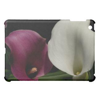 Purple White Callas iPad Mini Covers