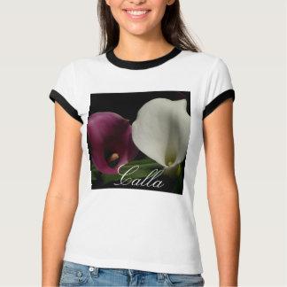 Purple White Callas T-Shirt