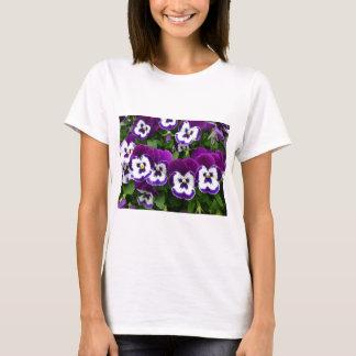 Purple & white flowers T-Shirt