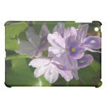 purple white flowers with eyes case for the iPad mini