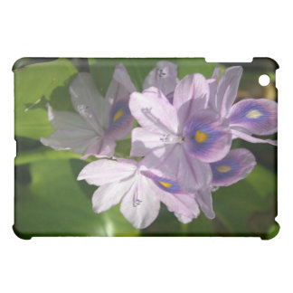 purple white flowers with eyes iPad mini covers
