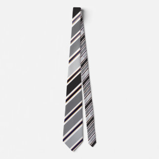 Purple white Gold Black Ties by to RokCloneDesigns