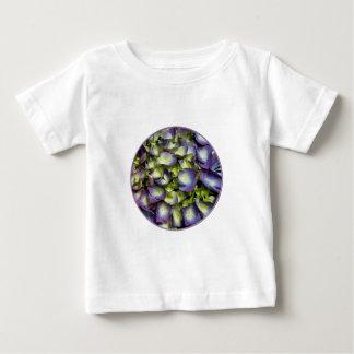 Purple & White Hydrangeas Baby T-Shirt