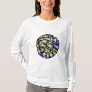Purple & White Hydrangeas T-Shirt