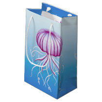 Purple White Medusa Type Jellyfish Gift Bag