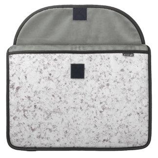 purple white mottled background MacBook pro sleeve